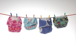 Selection of real nappies (large version)