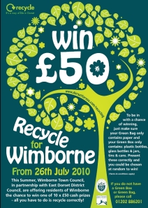 Recycle for Wimborne (large version)